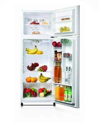 Golden GRD12GLW Freestanding Top Freezer Refrigerator with 12.0 cu. ft. Total Capacity
