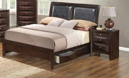 Glory Furniture G1525DDFSB2N G1525 Full Bedroom Sets