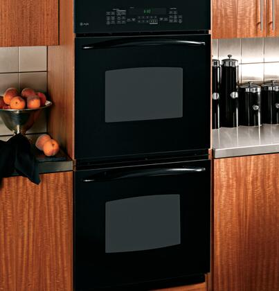GE PK956DRBB Double Wall Oven, in Black