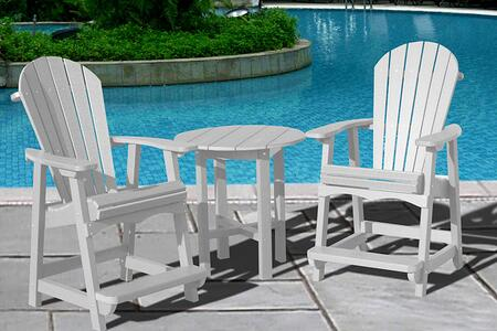 Vifah V1091SET7W Patio Sets
