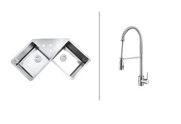 Ruvati RVC2566 Kitchen Sink