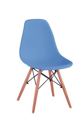 "ESF Set of 2 33"" Side Chairs with Tapered Legs, Supportive Metal Stretchers and Wood in"