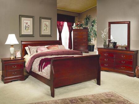 Coaster 200431KESET4 King Bedroom Sets