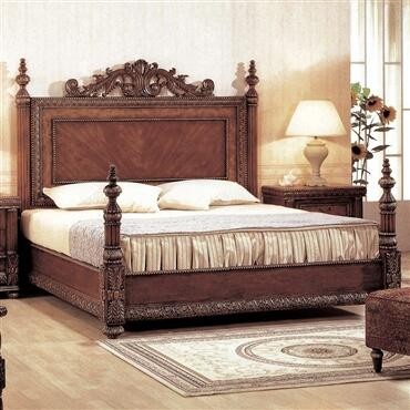 Yuan Tai 8420Q Bella Series  Queen Size Panel Bed