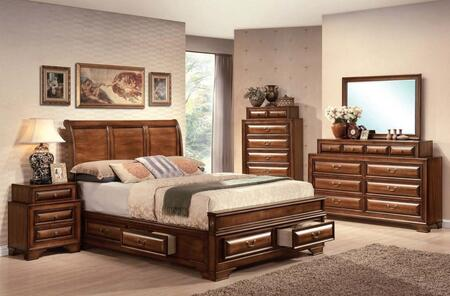 Acme Furniture 20444EK6PCSET Konane King Bedroom Sets