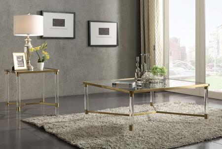 Acme Furniture Penstemon Coffee and End Table Set