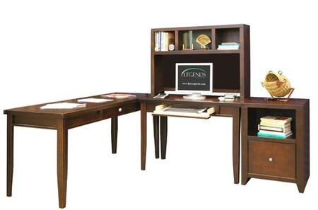 Legends Furniture UL6704MOC Urban Loft Series Writing Desk  Desk
