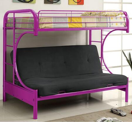 Furniture of America CMBK1034PRBED Rainbow Series  Twin Size Bunk Bed