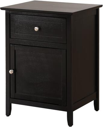 Glory Furniture G1413N50 Alpine Series Rectangular Veneers Night Stand