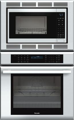 "Thermador MEDMC301J 30"" Star-K Certified Masterpiece Series Built-In Combination Wall Oven With 4.7 cu. ft. Oven Capacity, 1.5 cu. ft. Microwave Capacity, Self-Clean Oven Mode, Super Fast Preheat, And SoftClose Door: Stainless Steel"