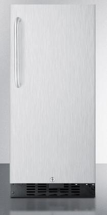 Summit FF1538BSSTB  Compact Refrigerator with 3 cu. ft. Capacity