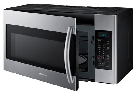 Samsung Me18h704sfs 1 8 Cu Ft Over The Range Microwave