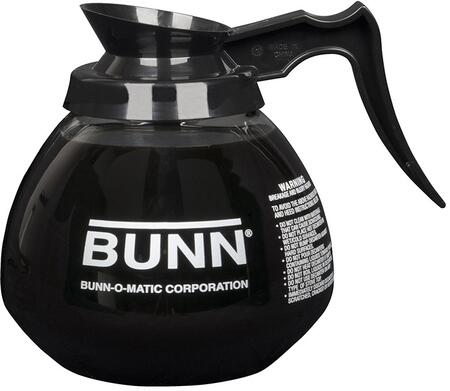 Bunn-O-Matic 424000 Glass Decanter with Black Handle
