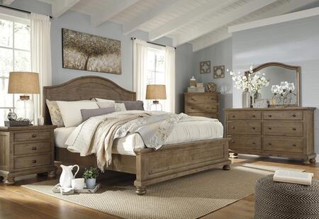 Milo Italia BR7534PCQP6DDLM3DNKIT1 Goodwin Queen Bedroom Set