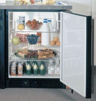 Marvel 6ADAMBBFLR  Built In Counter Depth Compact Refrigerator with 5.4 cu. ft. Capacity, 2 Wire Shelves