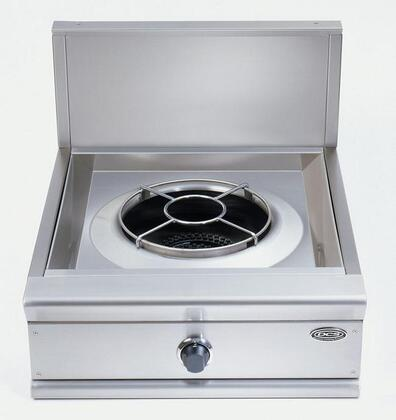 DCS C24WN  Gas Wok Style Cooktop, in Stainless Steel