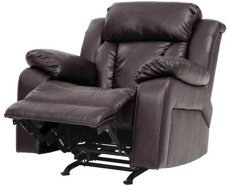 Glory Furniture G686RC G680 Series Faux Leather Metal Frame  Recliners