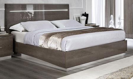 ESF Platinum Legno Collection I17476I14496 Bed in Silver Birch Finish