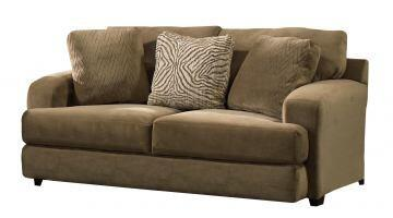 """Jackson Furniture Palisades Collection 4186-02- 75"""" Loveseat with T-Front Seat Cushions, Wide Track Arms and Three Toss Pillows in"""