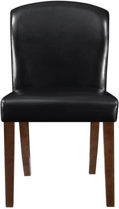 Coaster 150392 Louise Series Transitional Bycast Leather Wood Frame Dining Room Chair