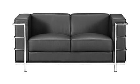 Zuo 900241 Fortress Series  Loveseat