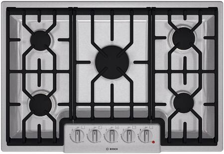 Bosch NGM8054UC 800 Series Gas Sealed Burner Style Cooktop
