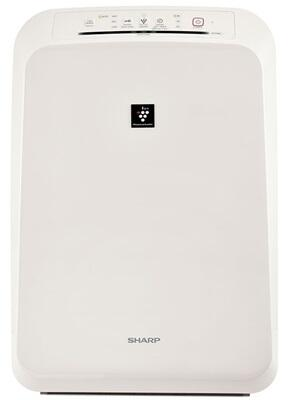 Sharp FPx0UW Air Purifier With Plasmacluster Ion Technology, Automatic Operation, 4 Fan Speed, Energy Star and Library Quiet, in White