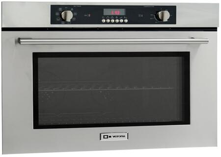 """Verona VEBIEM XX"""" Electric 110 Volts Wall Oven With X Oven Capacity, 8 Cooking Functions, Electronic Controls, 3 Pane Heat Resistant Glass and 2 Oven Racks With 4 Positions in Stainless Steel"""