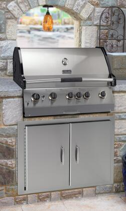 Vermont Castings VCS523SSBIN Built In Natural Gas Grill