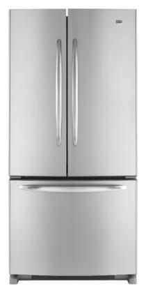 Maytag MFF2258VEM  French Door Refrigerator with 21.5 cu. ft. Total Capacity 4 Glass Shelves