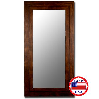 Hitchcock Butterfield 25860X Cameo Grande Beveled Mirror in Mocha Walnut