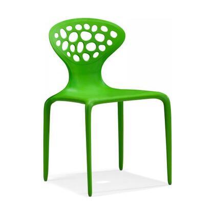 Zuo 100341 Modern Polypropelene Frame Dining Room Chair