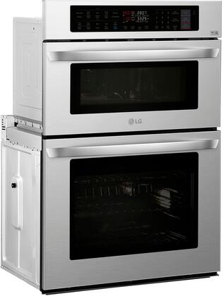 Lg Lwc3063st 30 Inch 6 4 Cu Ft Total Capacity Electric
