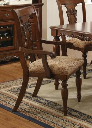 Coaster 103513 Addison Series Traditional Fabric Wood Frame Dining Room Chair