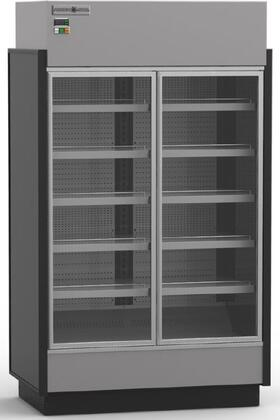 Hydra-Kool KGVMRxS High Volume Grab-N-Go Case with Doors, cu. ft. Capacity, HP, Front and Rear Loading Doors, in Black