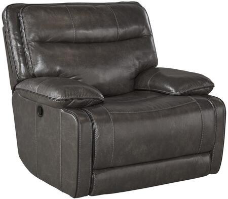 Signature Design by Ashley U7260198 Palladum Series Contemporary Leather Metal Frame Rocking Recliners