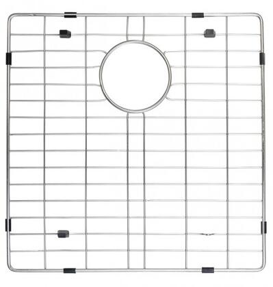 "Kraus KBG10333 16.50"" Stainless Steel Bottom Grid with Protective Anti-Scratch Bumpers"