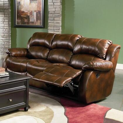 Coaster 600471 Morrell Series Reclining Leather Sofa