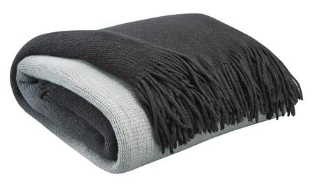 Signature Design by Ashley Danyl Collection A100049xT Decorative Throw with Acrylic Material, Ombre Design and Fringes in