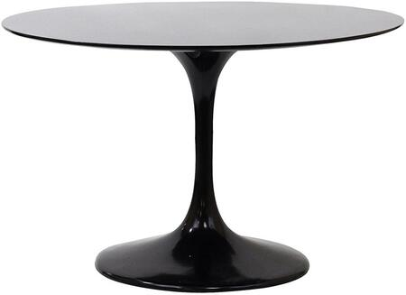 "Modway EEI-119 Lippa 48"" Fiberglass Dining Table with Modern Design, Fiberglass Construction, Scratch and Chip Resistant Finish"