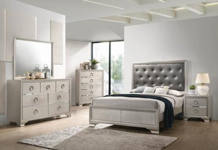 Coaster Salford 5 Piece Queen Size Bedroom Set