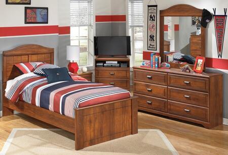 Milo Italia BR355TPBDMC Vasquez Twin Bedroom Sets