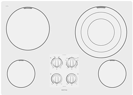 Maytag MEC7630WW  Electric Cooktop