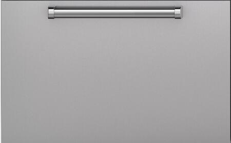 Sub-Zero 700884 X Hinge Dual Flush Inset Drawer Panel with Professional Handle, in Stainless Steel