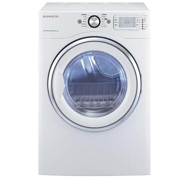 Daewoo DWRWG5413WC  Gas Dryer, in White