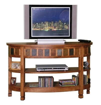 Sunny Designs 2135XX Curved Entry/TV Console in