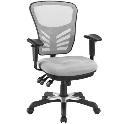 """Modway EEI757GRY 26.5"""" Adjustable Office Chair"""
