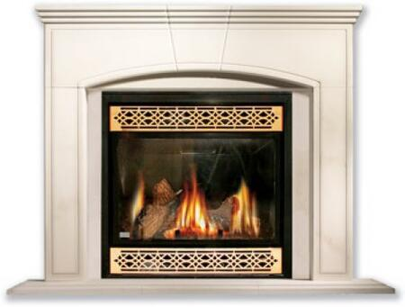"Napoleon CMX36M Marcella Cast Stone Mantel for 36"" Fireplaces:"