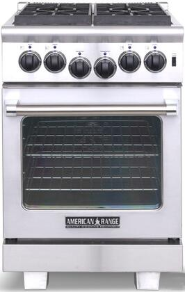 "American Range ARR244L Gas Sealed Burner 24""4 No Yes No Freestanding Range |Appliances Connection"