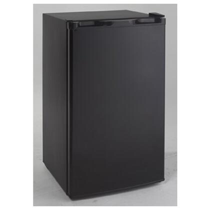 Avanti RM3421B  Freestanding Compact Refrigerator with 3.4 cu. ft. Capacity, 2 ShelvesField Reversible Doors
